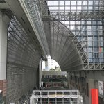 JR Kyoto Station complex. Hotel Granvia is at the other side of this impressive passage.