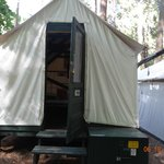 Tent from Curry Village, Yosemite