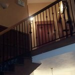 Staircase leading to my room