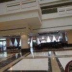 Hall do Hotel e sua requintada decoração