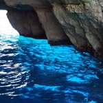 Blue Grotto lazur