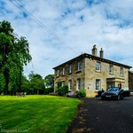 Chatton Park House,  drive and house