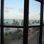 Vista do apartamento 7andar frente ao mar