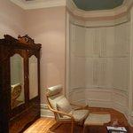 「小梅」の部屋のウッド・デッキ・チェア