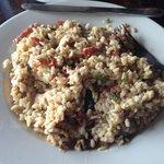 Rustic but delicious risotto