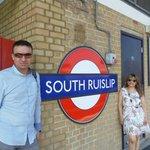 ojo con la estación Es esta...South Ruslip