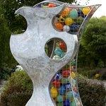 Merrilee Moore - Complement II, glass, stainless steel