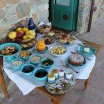 Frühstück für zwei Gäste