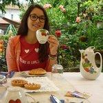 la colazione degli ospiti
