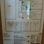Zimmer 915, Etagenplan