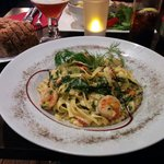 Scampi in Red Thai Sauce