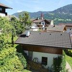 Aussicht von der Alpenglück Suite