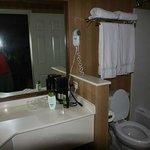 Das separate Badezimmer