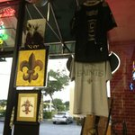 The owner's are true New Orleans Fans through and through