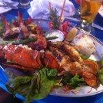 Shrimp and lobster