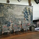 'Africa' wool and silk tapestry c.1680-1720 Flemish