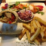 Sweet Chilli Chicken Wrap