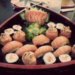 Combinado de salmão