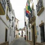 Montelirio- streetside entry