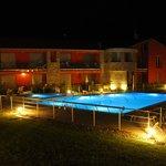 Villa Paradiso at nigt