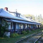 Cafe Pot au Feu was once a train station