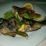 Fish Prepared by Chef