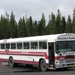 "Kantishna limousine, the so-called ""school bus"""