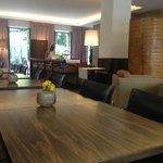 Bar / Frühstücksbereich