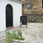 "Jardin Muralla- ""cool driks"" signboard"