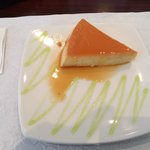 Cheese custard from Basilia's in Isla Verde, PR. The presentation was very good for a mid-price