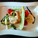 Essen im Hotel Des Alpes