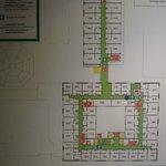 Zimmerplan 6. Etage
