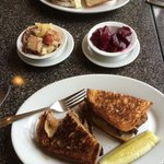 Great melts and sandwiches!! Oh, and wonderful German side dishes too. :)