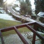 Vista exterior nieve