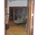 Entrance to Mango room