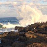 Splash Rock - great fishing spot near hotel
