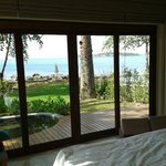 Sea view pool villa