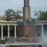 Russian troops occupied Vienna until 1956; this is the memorial to their fallen troops