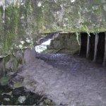 Narrow passageways and stairs