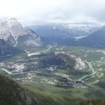View of Banff from the summit