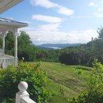 La vue sur le lac Massawipi