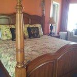 Le lit douillet et confortable