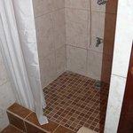 Shower at Bella Sombra