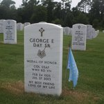 "Medal of Honor Recipient ""Bud Day"" veteran of WW!!, Korea and Vietnam"