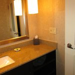 Frosted BathroomDoor InterContinental May 2014
