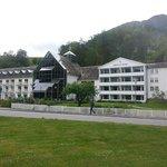 Vista do hotel Fretheim
