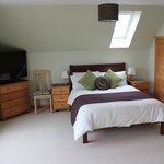 Double room at front of Benages overlooking bay