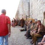 Filming of Crown of Thrones in Dubrovnik, Croatia