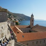 View from the walled city of Dubrovnik
