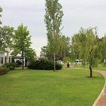 il parco dell'Albergo